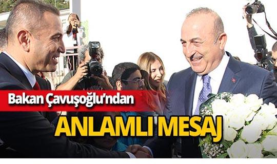 """Bakan Çavuşoğlu: """"Engel her zaman zihinlerdedir"""""""
