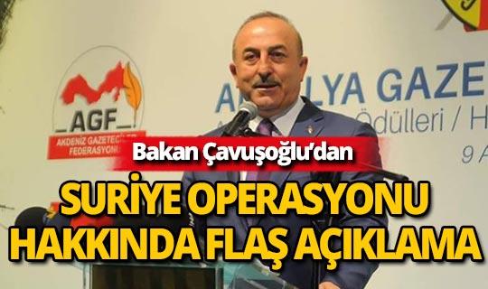 Bakan Çavuşoğlu, önemli açıklamalarda bulundu!