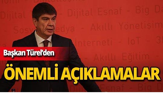 """Başkan Türel: """"Akıllı Kent hedefine ulaşıyoruz"""""""