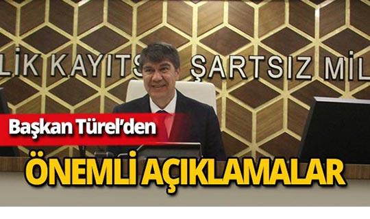 """Başkan Türel: """"Ürettiğimiz projeler ile gelir sağlıyoruz"""""""