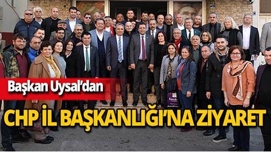 """Başkan Uysal: """"Hedef 19 ilçe ve Büyükşehir"""""""