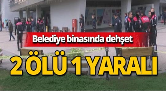 Belediye binasında korkunç saldırı : Ölü ve yaralılar var!