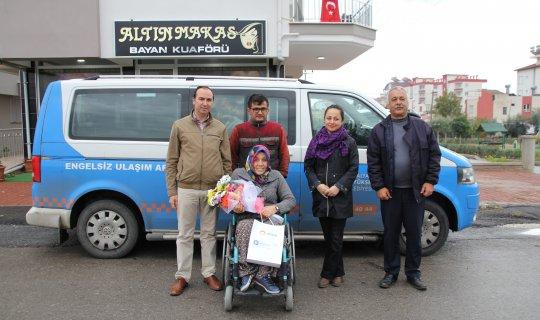 Büyükşehir'den engelli ve ailelerine ziyaret