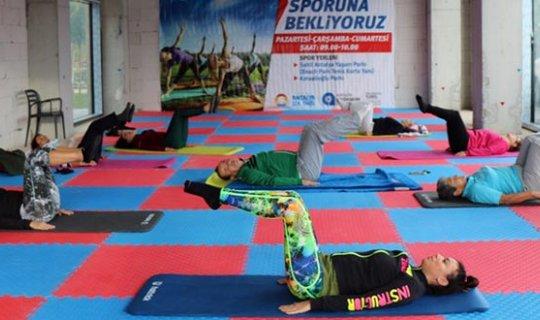 Büyükşehir'den sabah sporu etkinliği