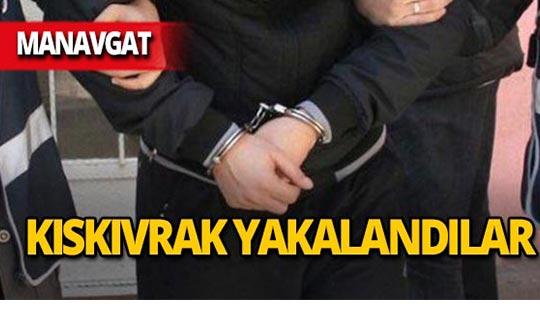 Çeşitli suçlardan aranıyorlardı, Manavgat'ta yakalandılar!