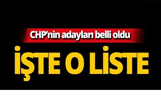 CHP 212 belediye başkan adayını açıkladı!