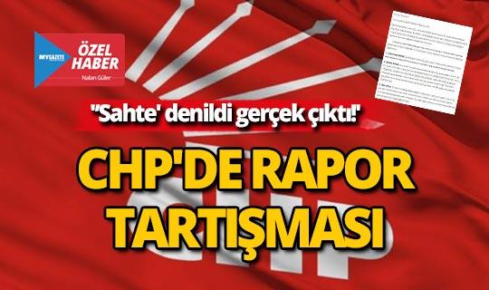 Antalya CHP'de rapor tartışması!