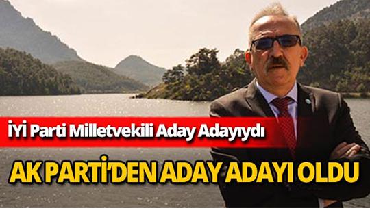 Kubilay Yayla Ak Parti Antalya Belediye Meclis Üyeliği için aday adayı oldu!