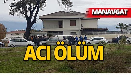 Manavgat'ta genç turizmcinin şüpheli ölümü!