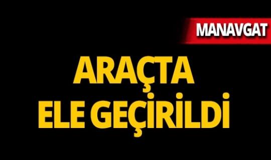 Manavgat'ta operasyon : Kıskıvrak yakalandı