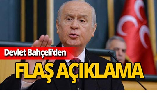 MHP lideri Bahçeli'den 'sarı yelek' açıklaması!