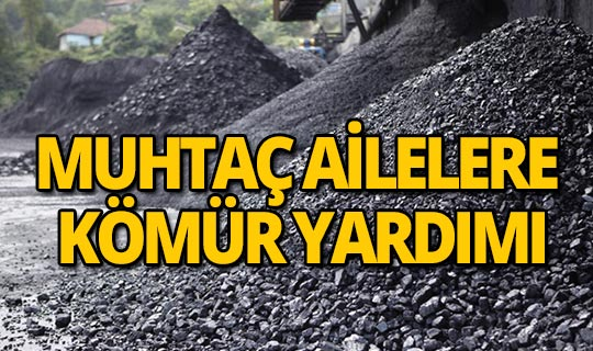 Muhtaç ailelere kömür yardımı kararı