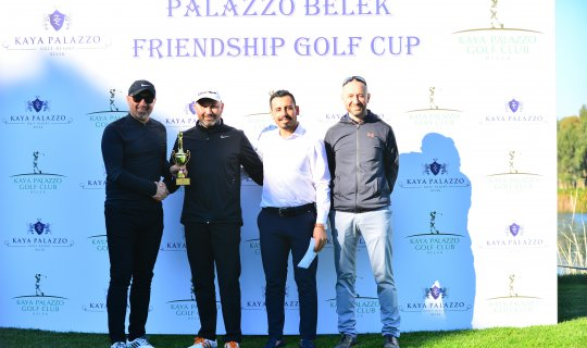 Palazzo Belek Friendship Golf Cub Şampiyonu belli oldu
