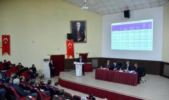 2019 yılı birinci il koordinasyon kurulu toplantısı gerçekleştirildi