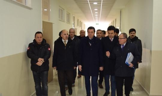 AK Parti milletvekili Kendirli, eğitim yatırımlarını inceledi
