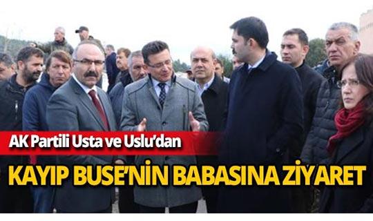 AK Partili Usta ve Uslu'dan Buse Acar'ın babasına ziyaret