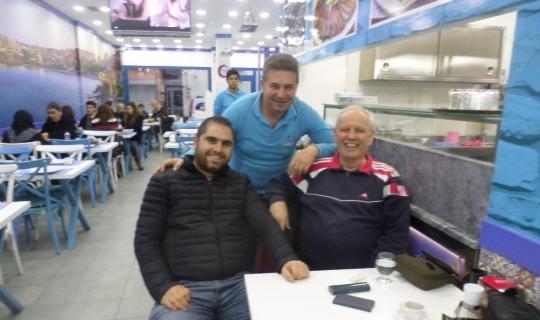 Almanya'dan balık yemeye Mudanya'ya geliyorlar