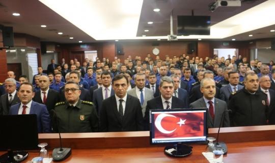 Antalya Adliyesi'nde Adli Kolluk Toplantısı