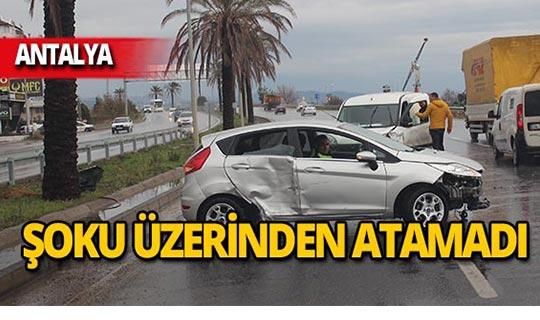 Antalya'da faciadan dönüldü