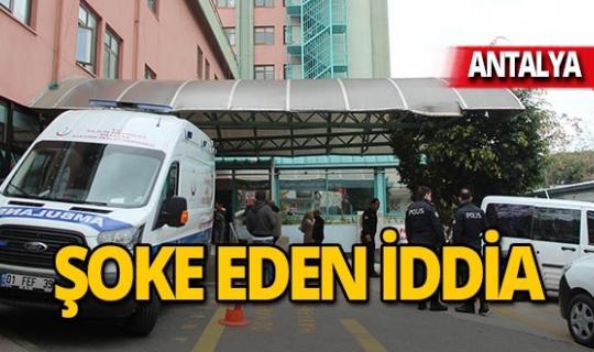 Antalya'da karın ağrısıyla gittiği hastanede düşük yaptı iddiası!
