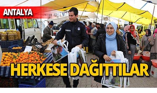 Antalya'da ücretsiz dağıtıldı!
