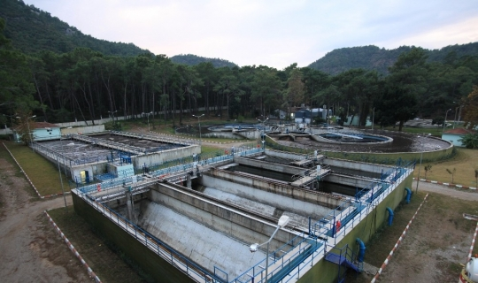 Antalya'da atık sular arıtılmadan denize bırakılmıyor