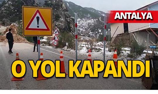 Antalya'da o mahallelere ulaşım kapandı!