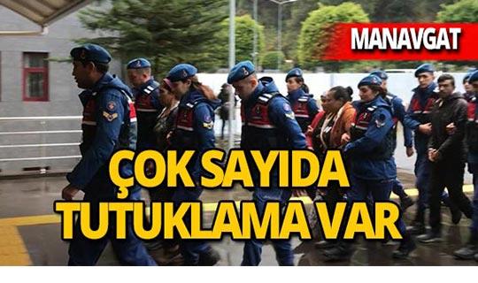 Antalya'da operasyon : Çok sayıda tutuklama var!