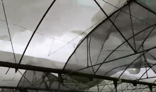 Antalya'yı şiddetli fırtına vurdu!