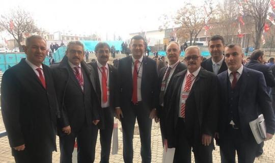 Başkan Alıcık MHP Aday Tanıtım Toplantısı'na katıldı