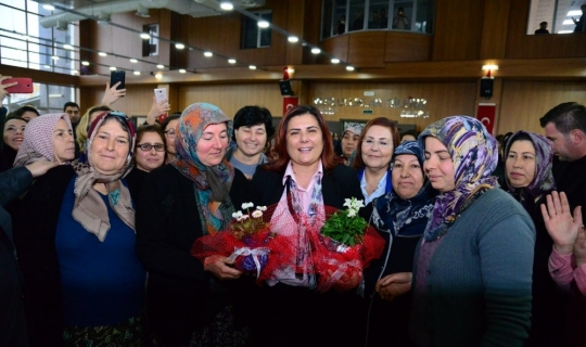 Başkan Çerçioğlu Çineli kadınlarla buluştu