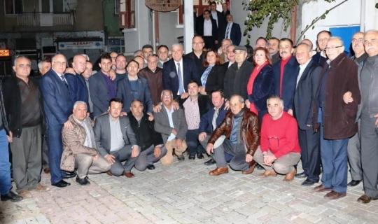 Başkan Çerçioğlu, Efeler'de görev yapan muhtarlarla buluştu