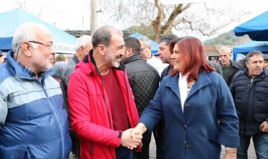 Başkan Çerçioğlu Koçarlı'da vatandaşlarla buluştu