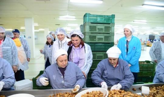 Başkan Çerçioğlu'ndan TARİŞ'e ziyaret