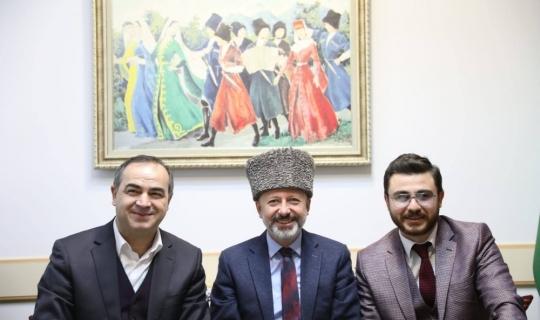 Başkan Çolakbayrakdar Birleşik Kafkasya Derneğini ziyaret etti
