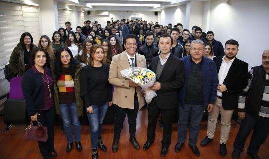 Başkan Genç, başarı hikayesini öğrencilerle paylaştı