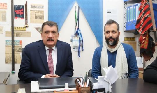 Başkan Gürkan, MAFSAD yönetimi ile buluştu
