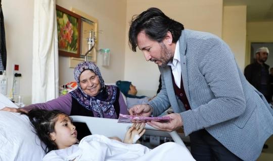 Başkan İrban'dan hasta ziyaretleri