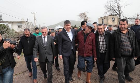 Başkan Türel, afet bölgesinde incelemelerde bulundu!