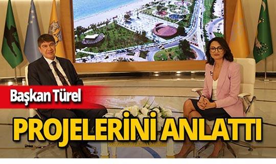 Başkan Türel ilk projelerini açıkladı!