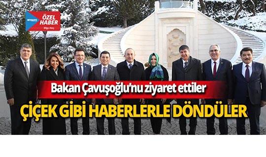 Başkan Tütüncü, Ankara'dan müjdelerle döndü