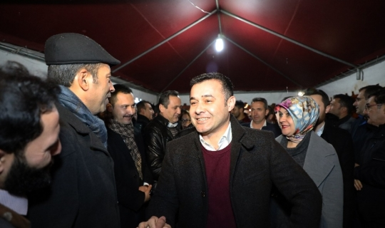 Başkan Yücel, projelerini anlattı