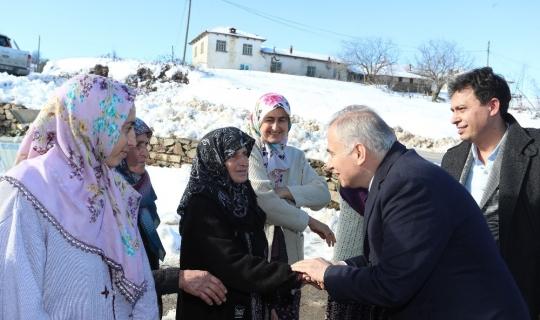 """Başkan Zolan: """"Büyükşehirde olan her şey köylerde de olacak"""""""