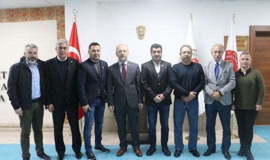 Başsavcı İnal, TSYD Yönetimini ağırladı