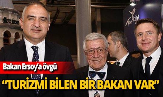 Bentour Başkanı Kadir Uğur'dan Bakan Ersoy'a övgü!