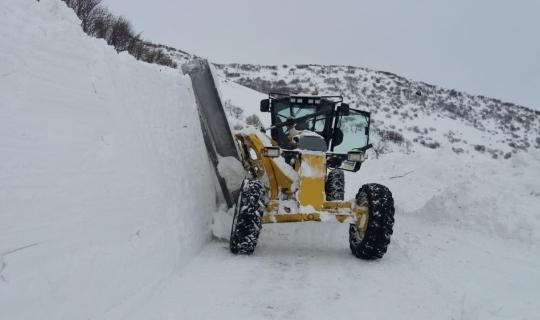 Bingöl'de 19 bin 200 kilometre yol kardan temizlendi