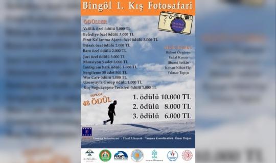 Bingöl'de 1. Kış Fotomaratonu