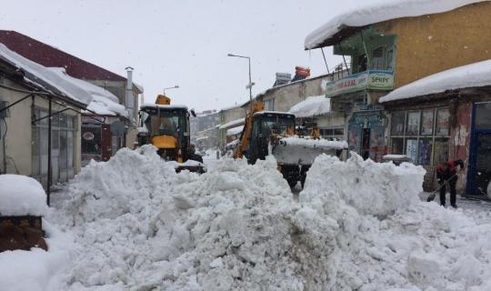 Bingöl'de karla kapanan 229 köy yolu ulaşıma açıldı