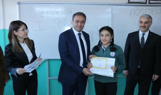 Burdur'da 43 bin 140 öğrenci yarıyıl tatiline girdi