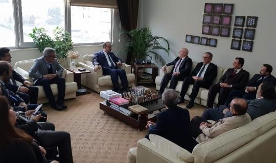 Bursa Valisi Canbolat BGC'ye konuk oldu